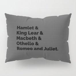 The Shakespeare Plays II Pillow Sham