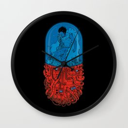 Cyberpunk Experiment Wall Clock
