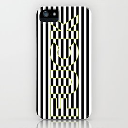 FUCK THE LINES. iPhone Case