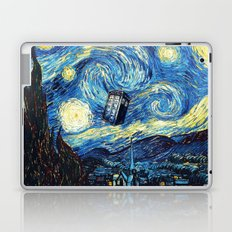 Tardis Starry Night Art Painting Laptop & iPad Skin