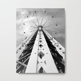 SYMMETRIC THRILLRIDE Metal Print