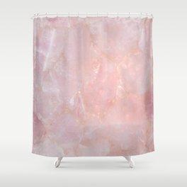 Rose Quartz Shower Curtain