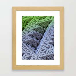 Sierpinski Zone Framed Art Print