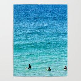Surfing Trio Poster