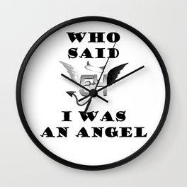 Fifth Harmony angel Wall Clock