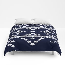 Invasion Pattern Comforters