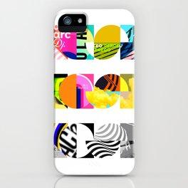 NOISE, NOISE, NOISE [COLLAGE] iPhone Case