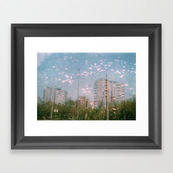 Belgrade Framed Art Print