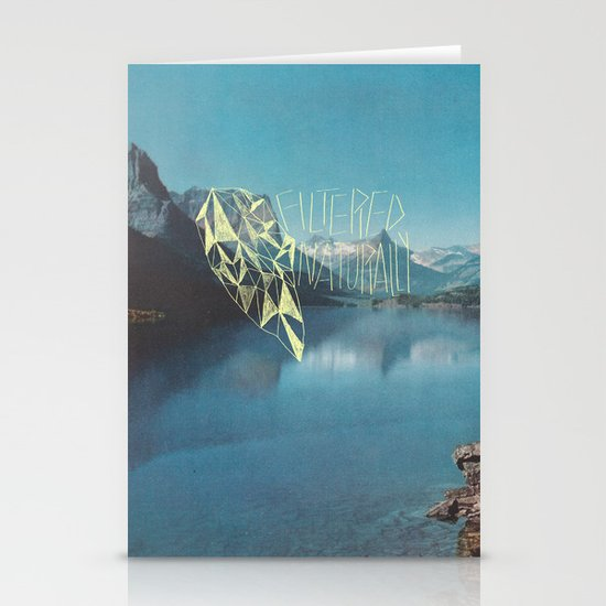 FILTERED NATURALLY Stationery Cards