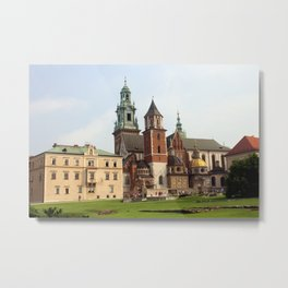 Wawel Cathedral Metal Print