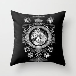 World of Burn Throw Pillow