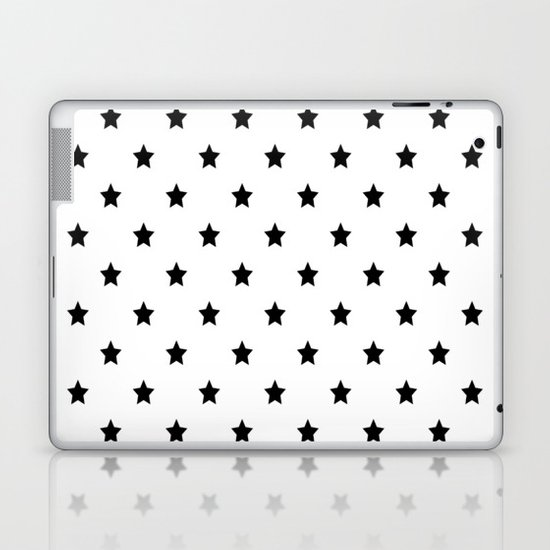 Black and white Star Pattern by seafoam12