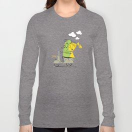 scooter ride! Long Sleeve T-shirt
