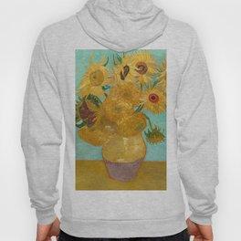Van Gogh - Sunflowers - Vase with Twelve Sunflowers Hoody