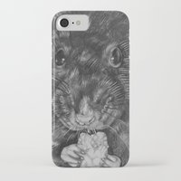 rat iPhone & iPod Cases featuring Rat by Natasha Maiklem
