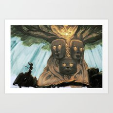 Tree of the Ancients Art Print