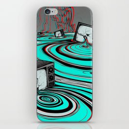 Lake of Static iPhone Skin