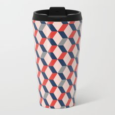 Geometric I Metal Travel Mug