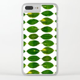 Still a Little Green Clear iPhone Case