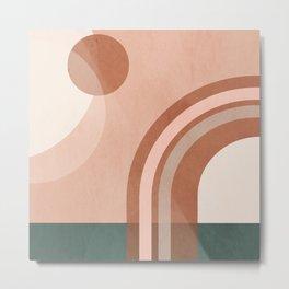 Geometric Abstract 99 Metal Print