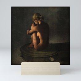 NIce Ass Art - Lonely Woman Scorned Mini Art Print