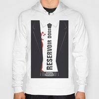 reservoir dogs Hoodies featuring Reservoir Dogs Tribute Poster by stefano manca