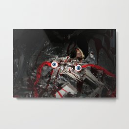 The Decay of the Mind. Metal Print