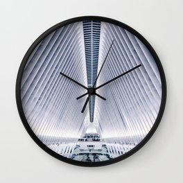Oculus / World Trade Center Station Wall Clock