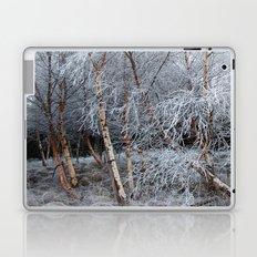 Frosty Trees in Winter Snow Laptop & iPad Skin