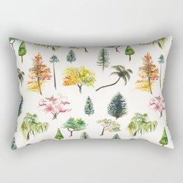Tree paradise Rectangular Pillow