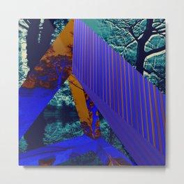 A Digital Landscape Metal Print