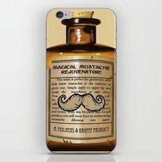Magical Mustache Rejuvinator iPhone & iPod Skin