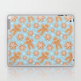 Winter Gingerbread Cookies Laptop & iPad Skin