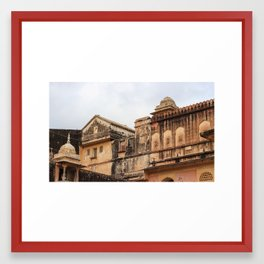 Colorful Palace Framed Art Print