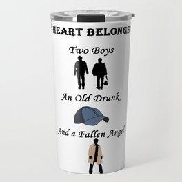 My Heart Belongs to Supernatural Travel Mug