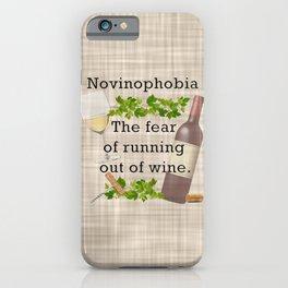 Novinophobia iPhone Case
