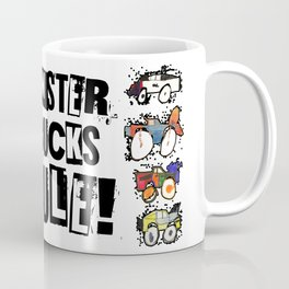 Monster Truck Kid Art by Tucker Coffee Mug