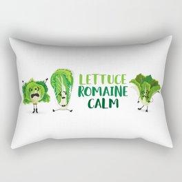 Lettuce Romaine Calm Rectangular Pillow