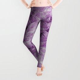 Purple Agate Leggings