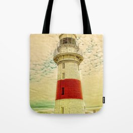 Low Head Lighthouse Tote Bag