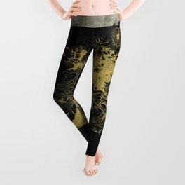 Black and gold Leggings