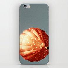Strawberry hot air baloon iPhone & iPod Skin
