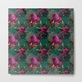 Beautiful Floral Garden Metal Print