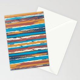 Tuscan painted summer Stationery Cards