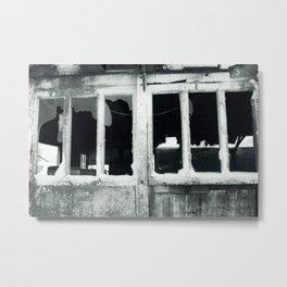 Broken windows. Metal Print