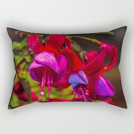 Fuchsia Dreams Rectangular Pillow