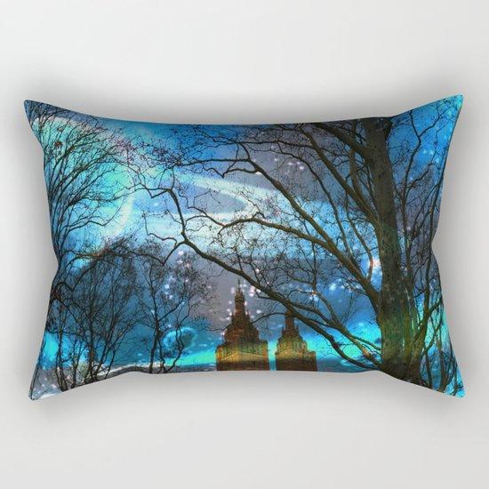 Saturn In Central Park Rectangular Pillow