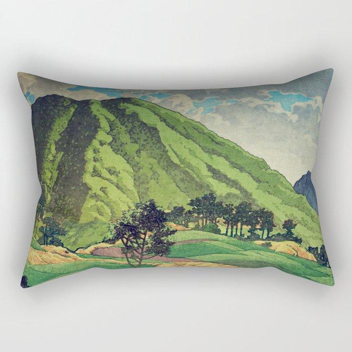 Crossing people's land in Iksey Rectangular Pillow