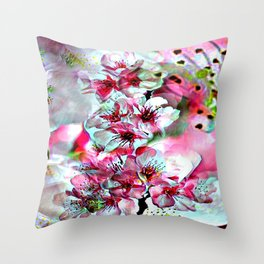 Cabsink17DesignerPatternFLG Throw Pillow