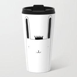 Prince Bunny III Metal Travel Mug